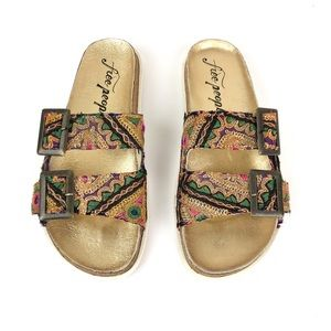 Free People Bali Slide Sandal 40